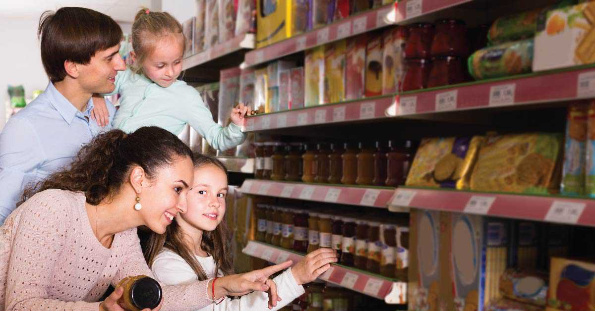 Mercar saludablemente y ahorrar dinero