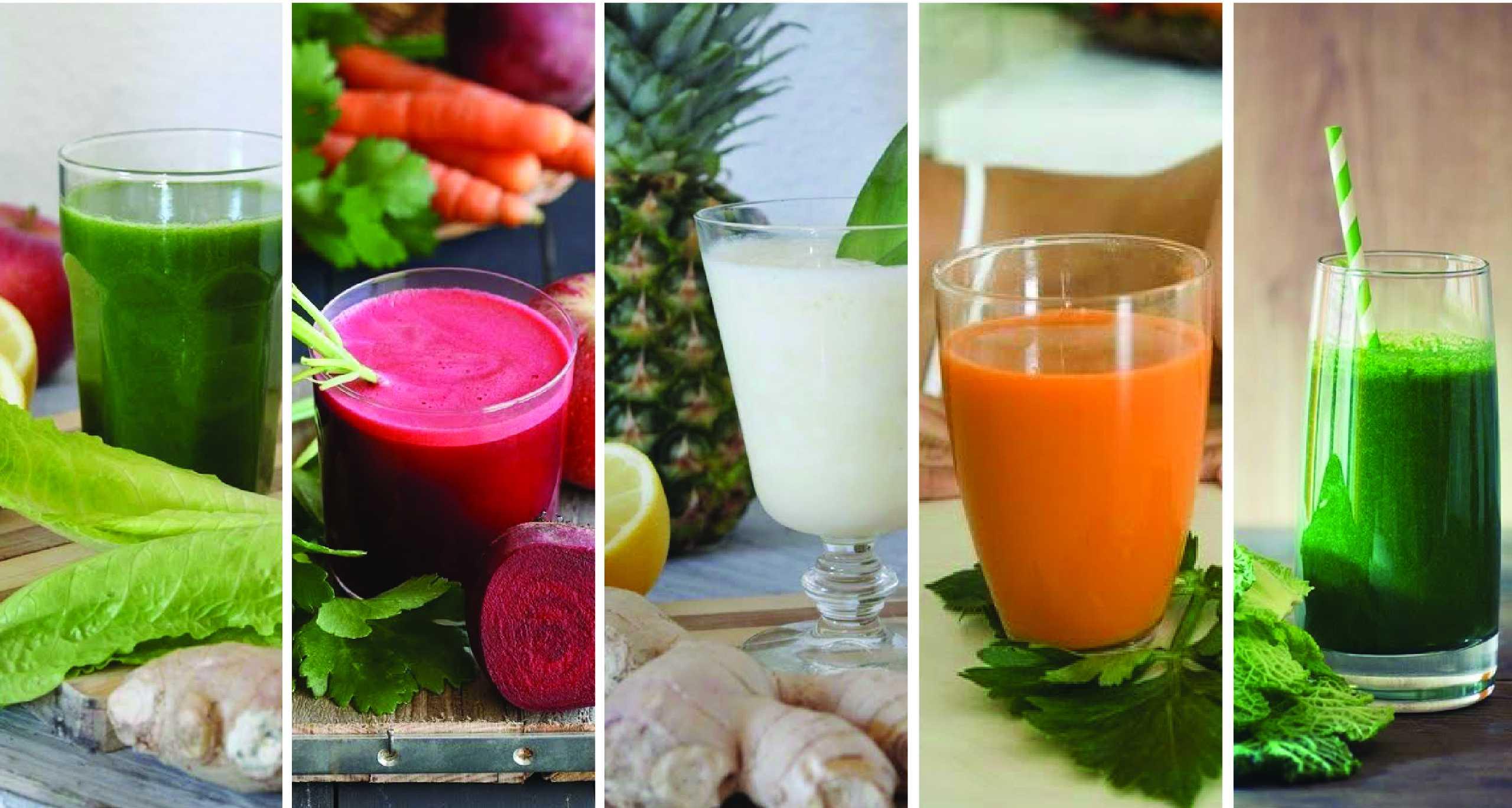 5 recetas de jugos detox para limpiar cuerpo y alma