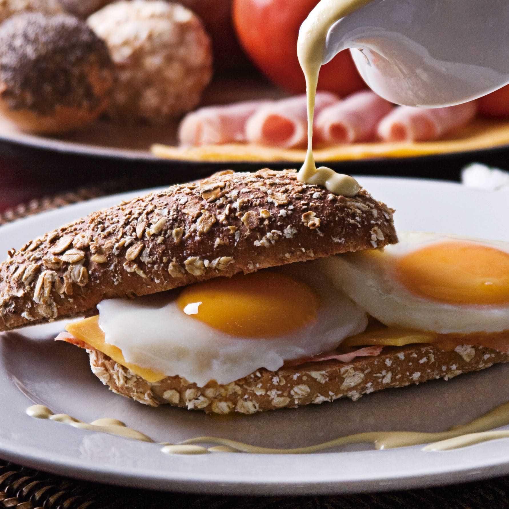 Huevos benedictinos Baggatelle