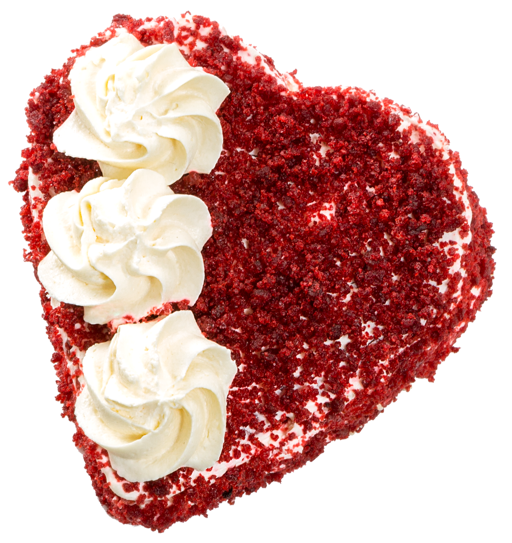 Mini napoleon de arequipe forma de corazon