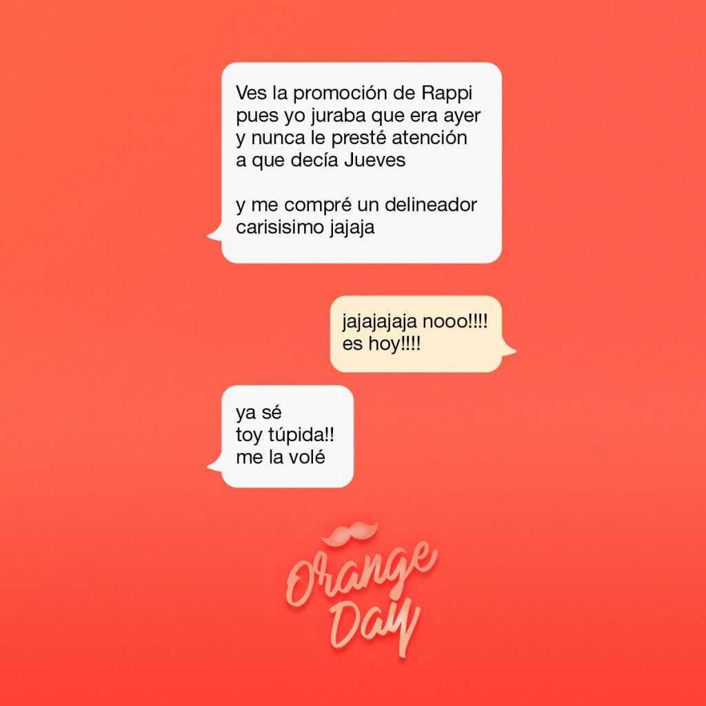 Orange day chat