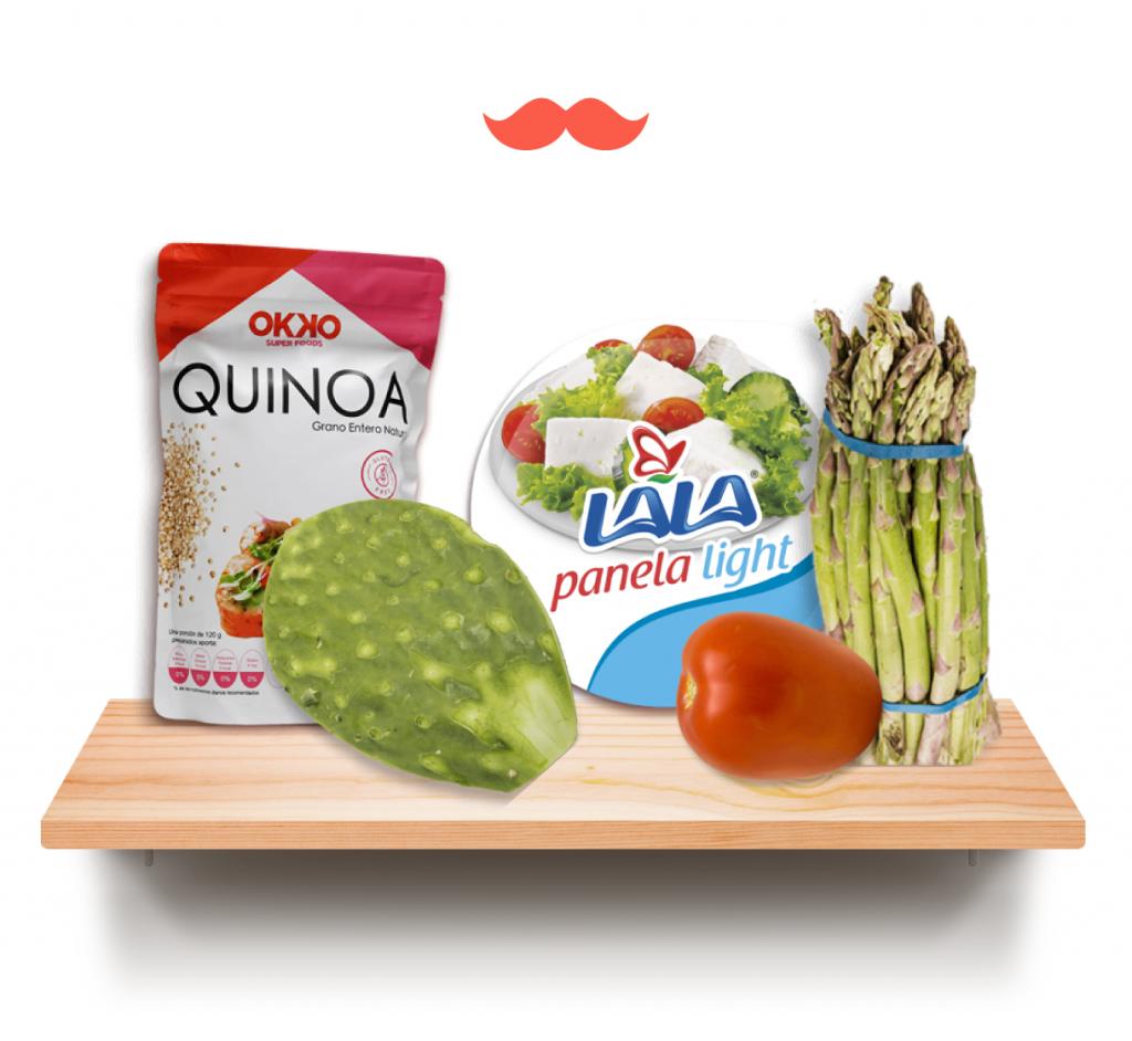 platillos saludables ingredientes