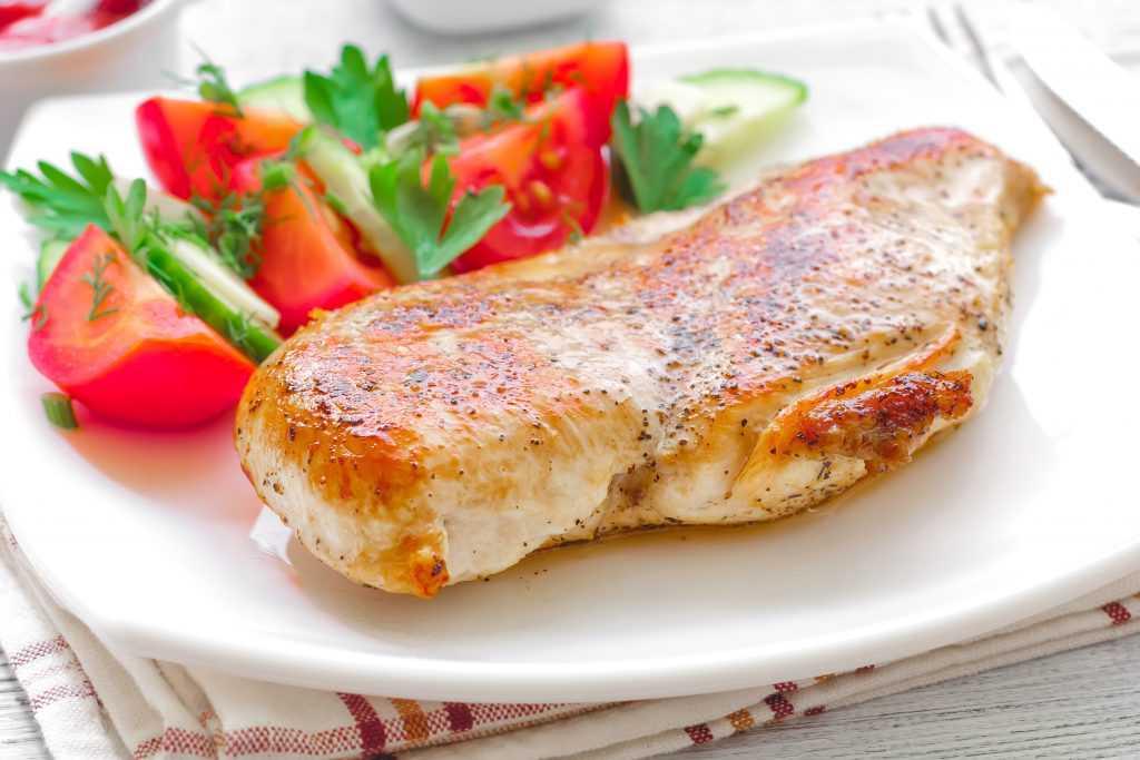 platillos-saludables-pollo con jitomate