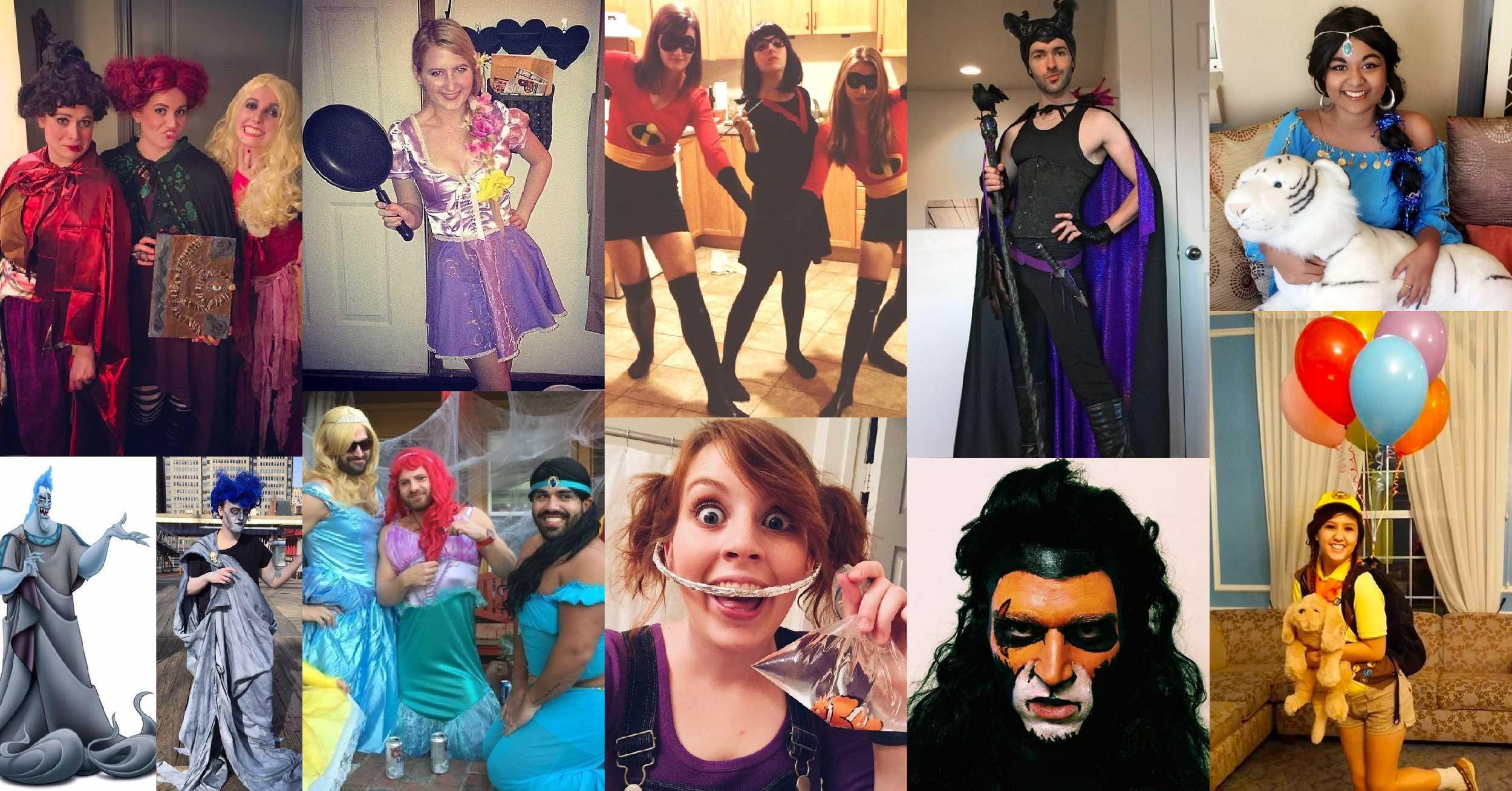 20 Ideas De Disfraces De Disney Para La Noche De Halloween - Idea-disfraz