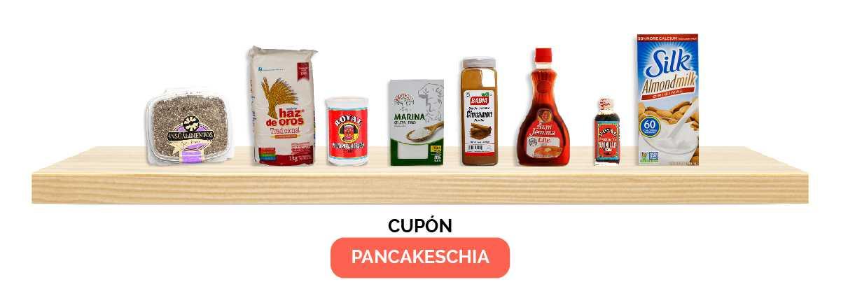 Pancakes de Chía