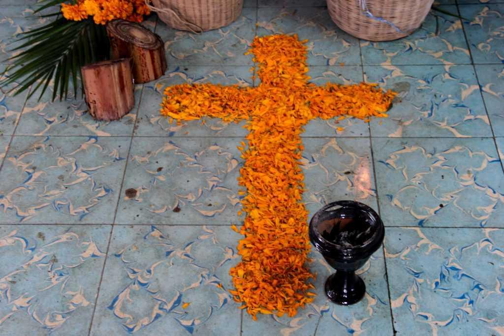 dia de muertos cruz