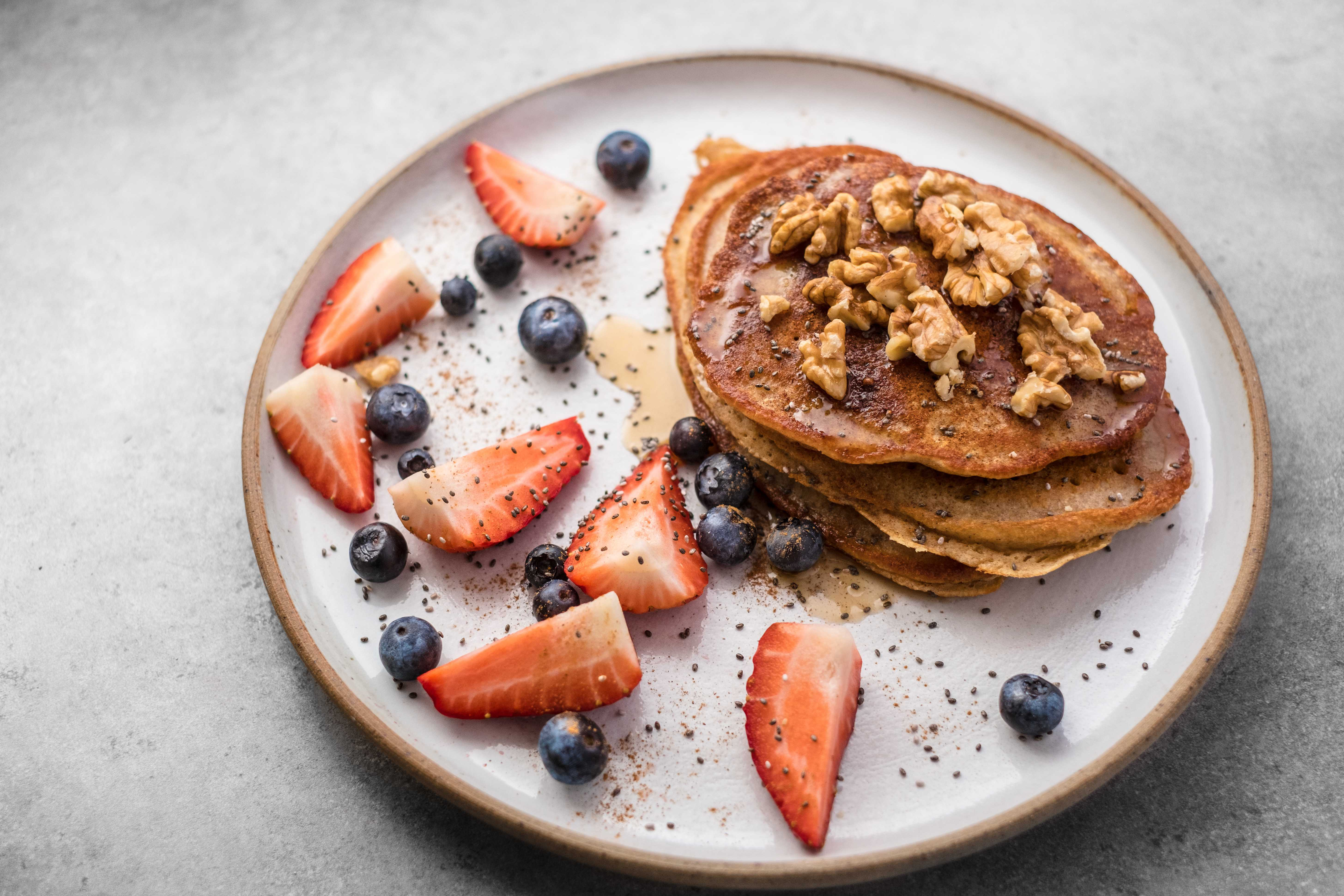 Pancakes con Semillas de Chía