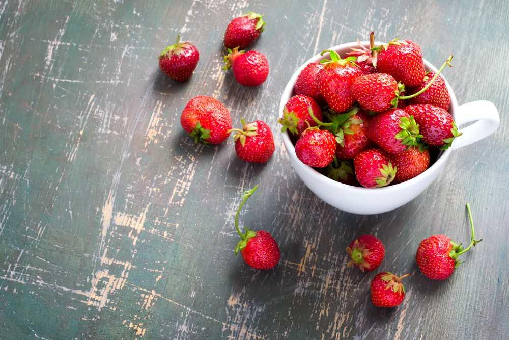 Fresas para acelerar el metabolismo