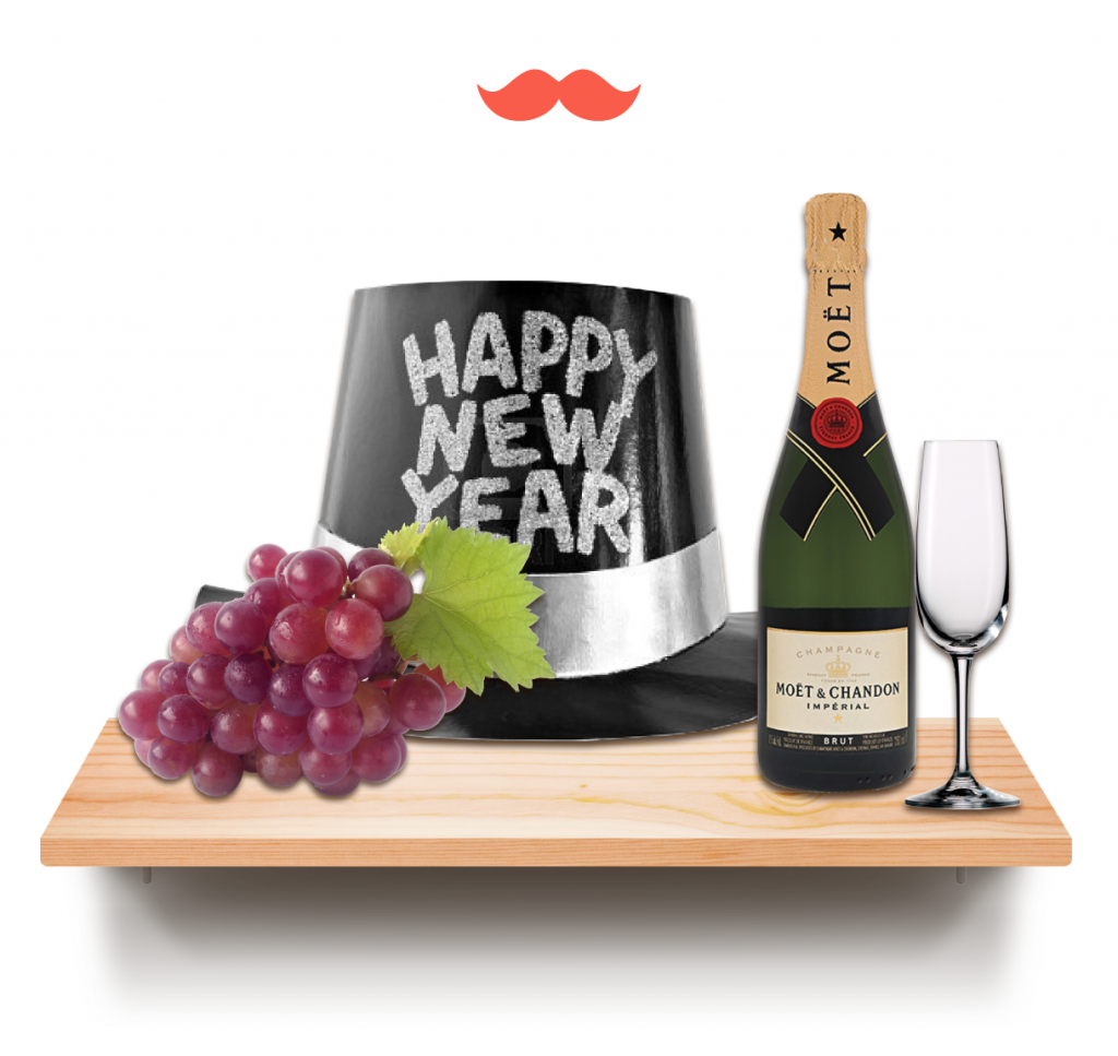 año nuevo 2017 estante