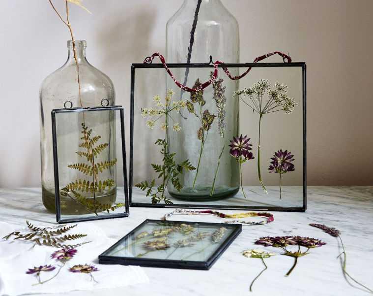 regalos hechos a mano flores-presionadas