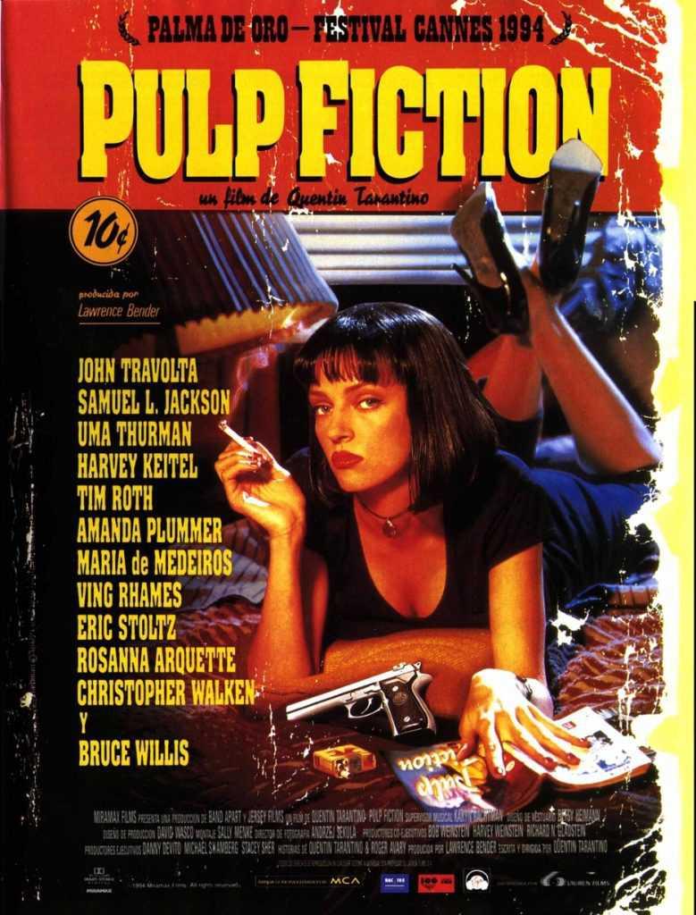 10 películas clásicas pulp-fiction