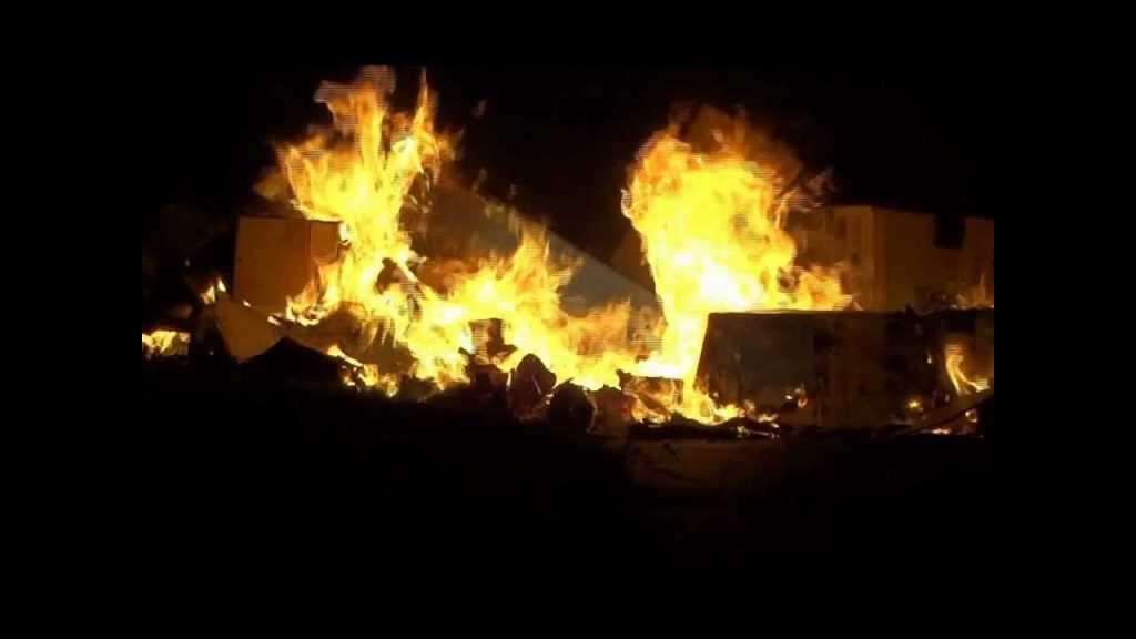 tradiciones de año nuevo quemados