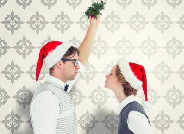 tradiciones de año nuevo mistletoe