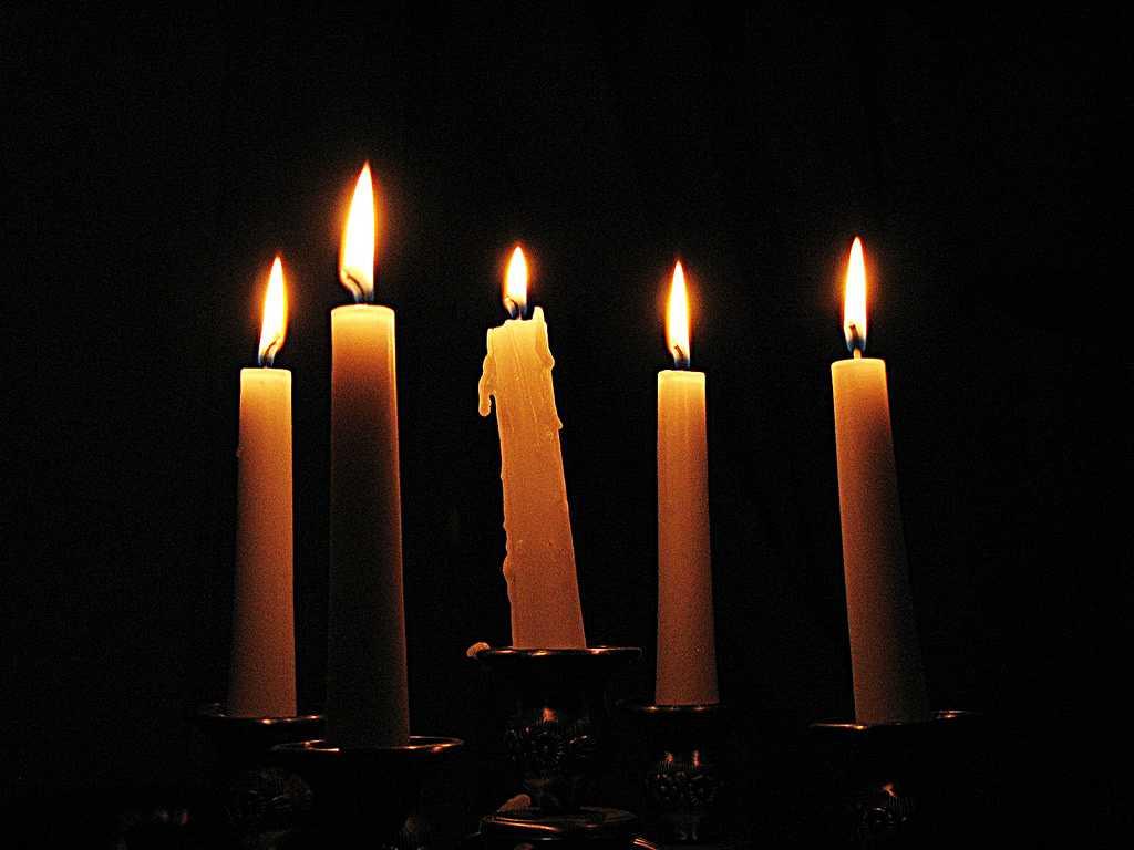 tradiciones de año nuevo velas