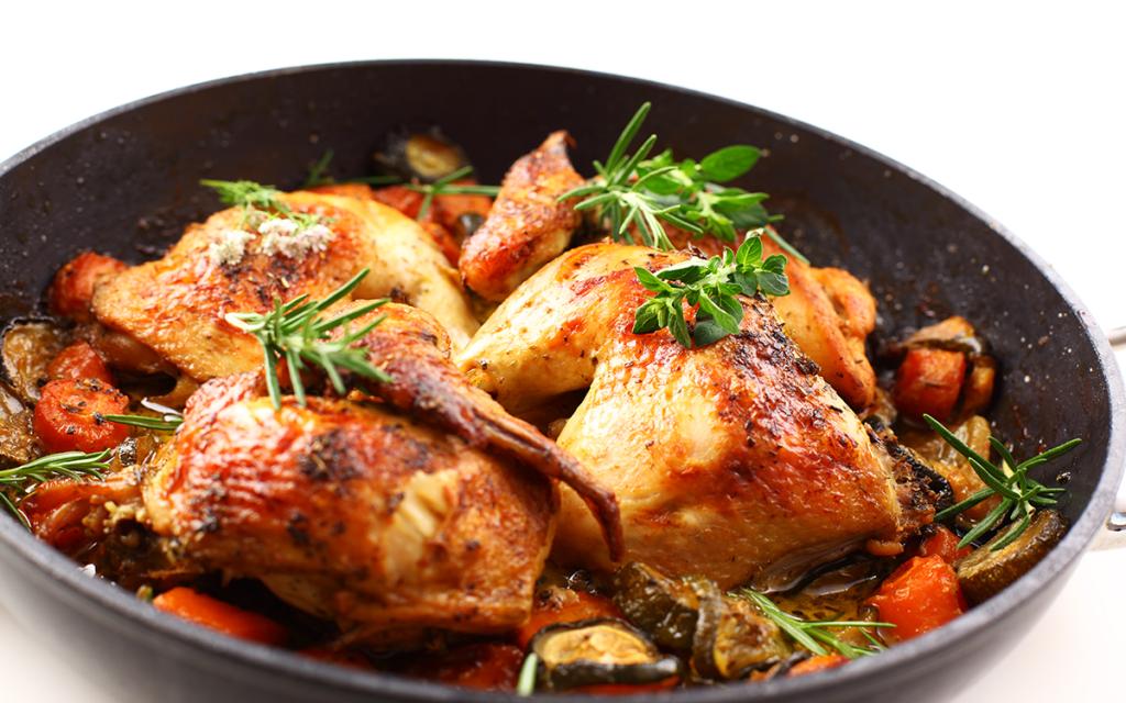 platillos saludables Pollo al horno