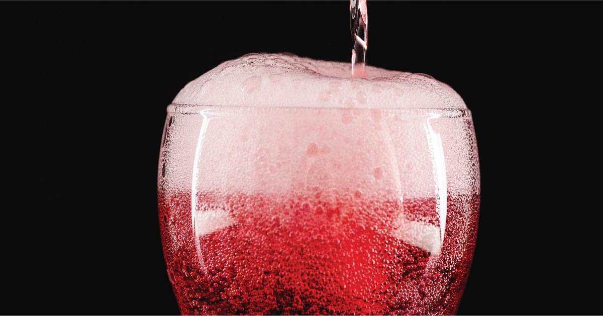 Cocteles con vino tinto