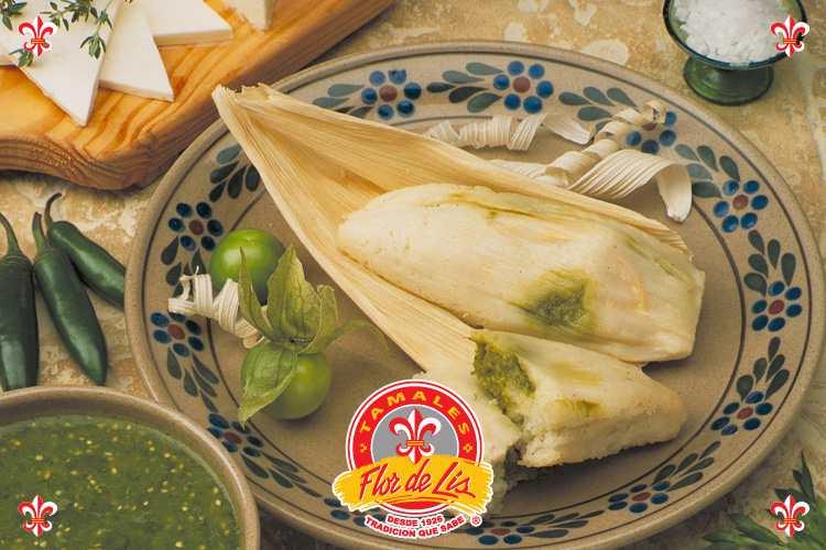 tamales flor de lis