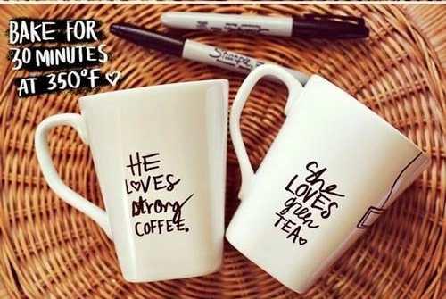 regalos caseros san valentin taza