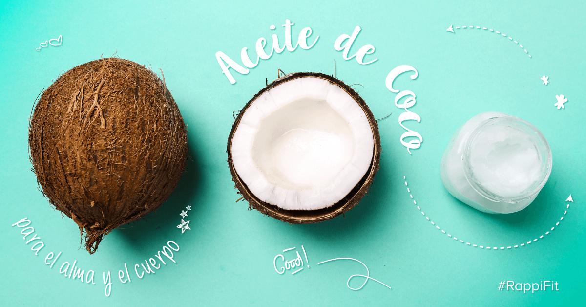 5 Usos del aceite de coco